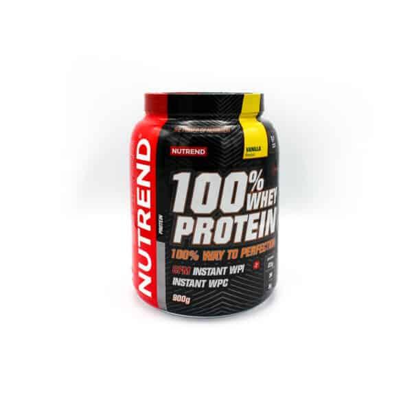 Studio Sport Webwinkel - Protein - Vanilla 900g - zijkant